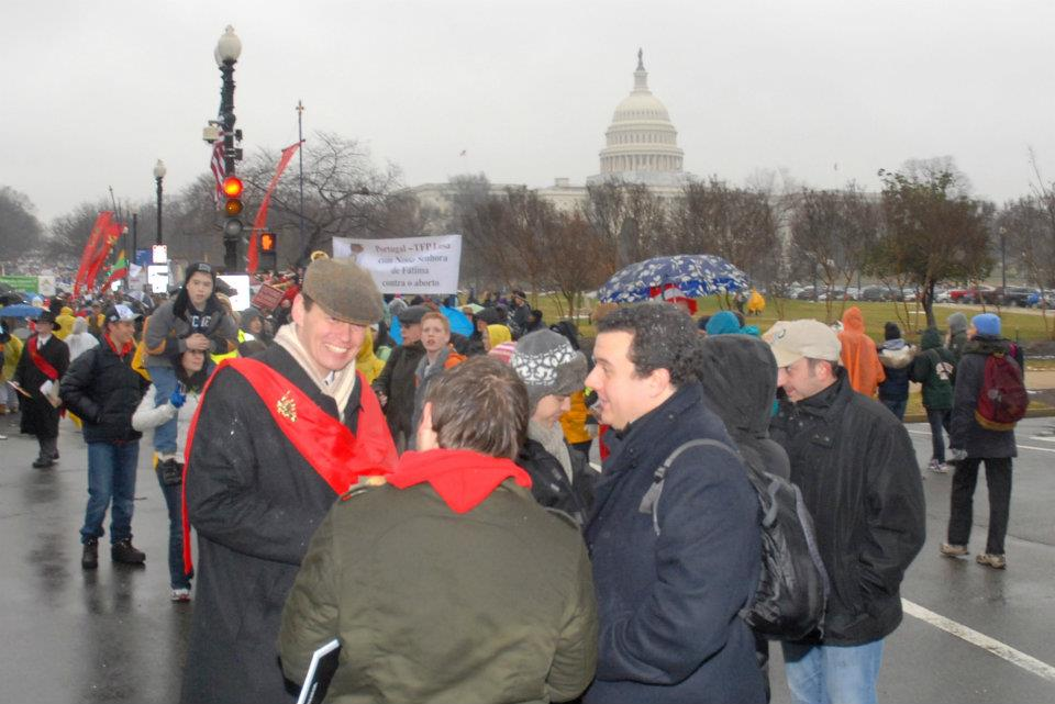 Duke Paul von Oldenburg at March for Life 2012