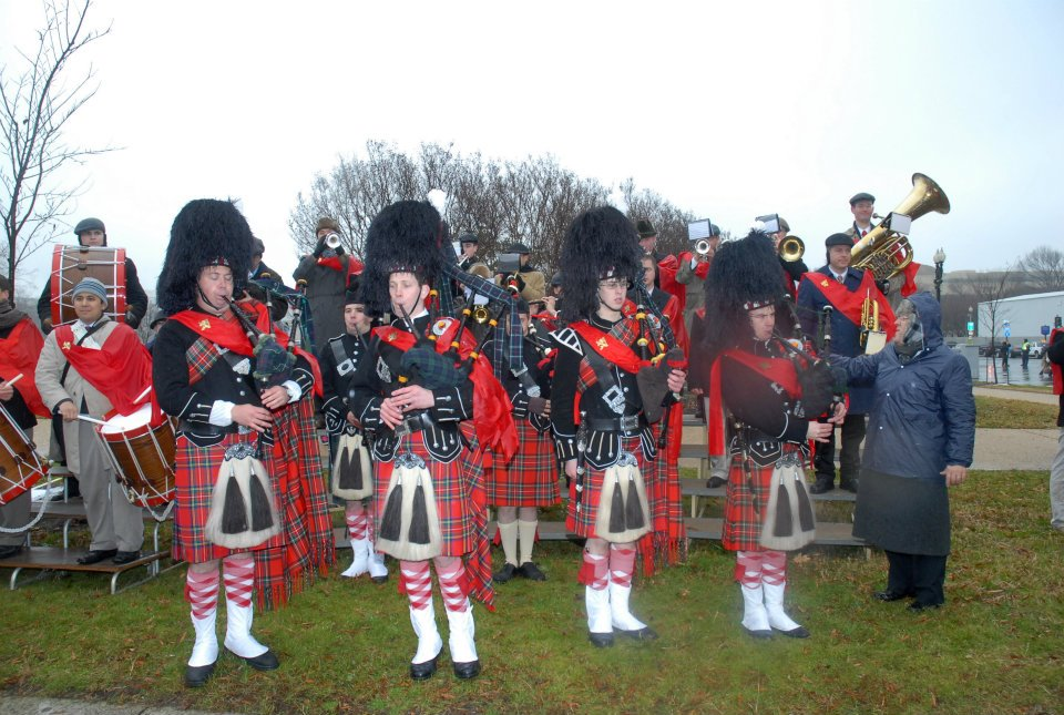TFP Bagpipes march for Life