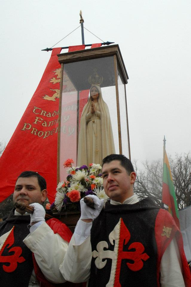 Our Lady of Fatima at March for Life