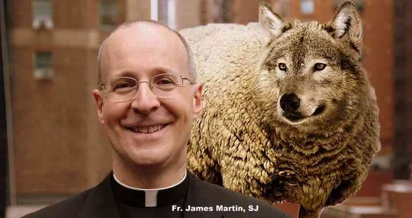 Fr. James Martin Wolf in Sheep's Clothing