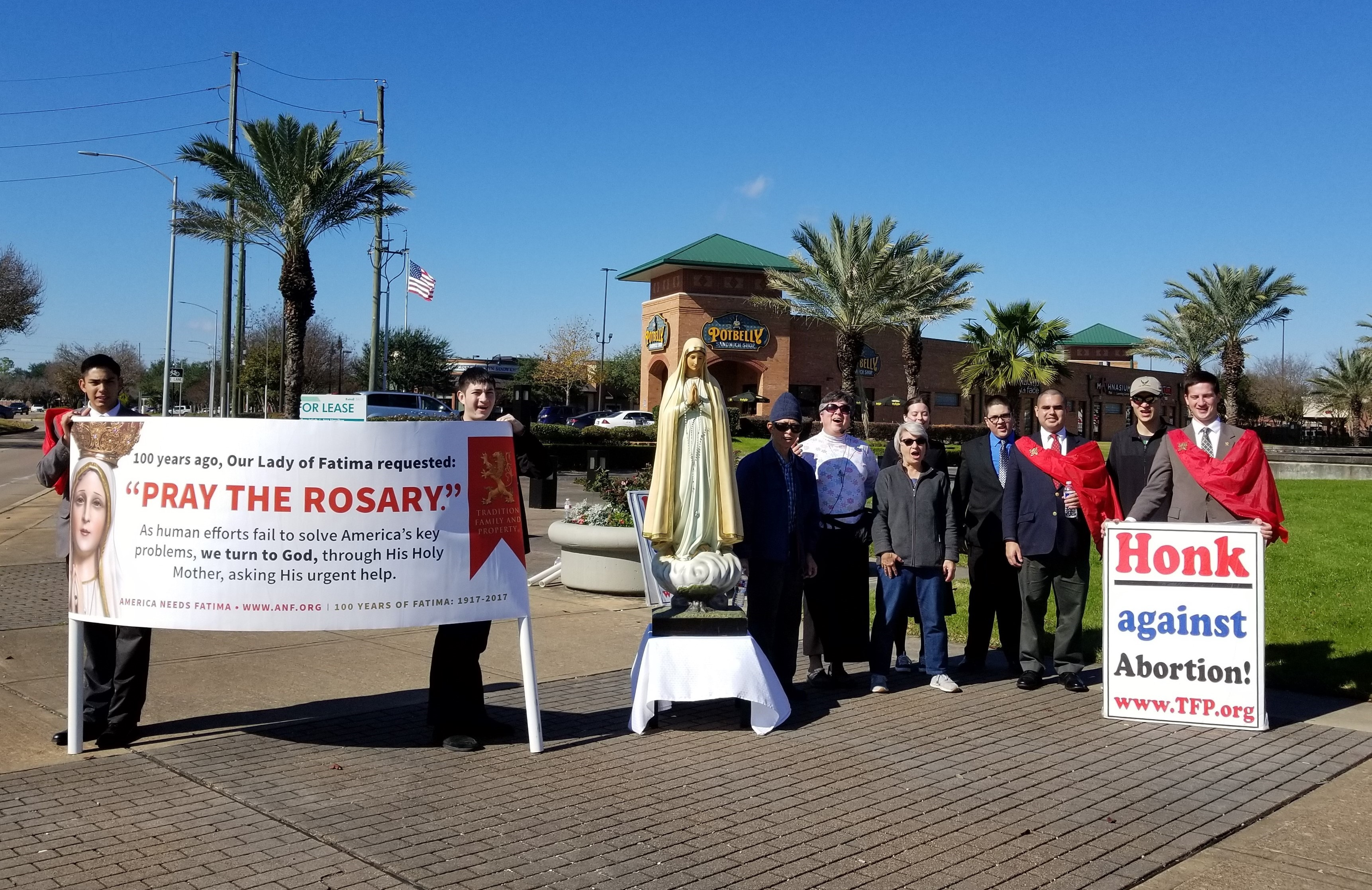 Rosary Rally Houston