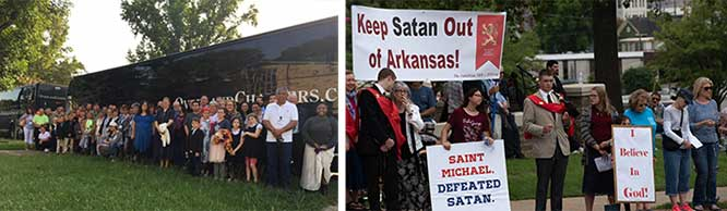 Taking a stand against Satanism