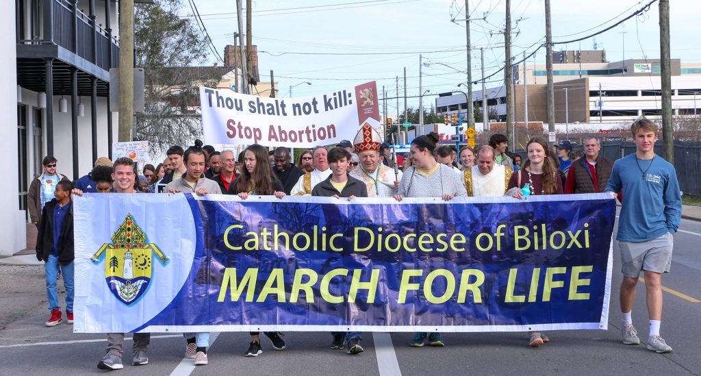March for Life in Biloxi
