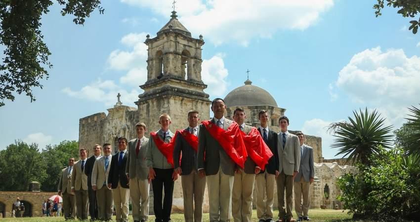 TFP Caravan visits San Jose Mission, Texas