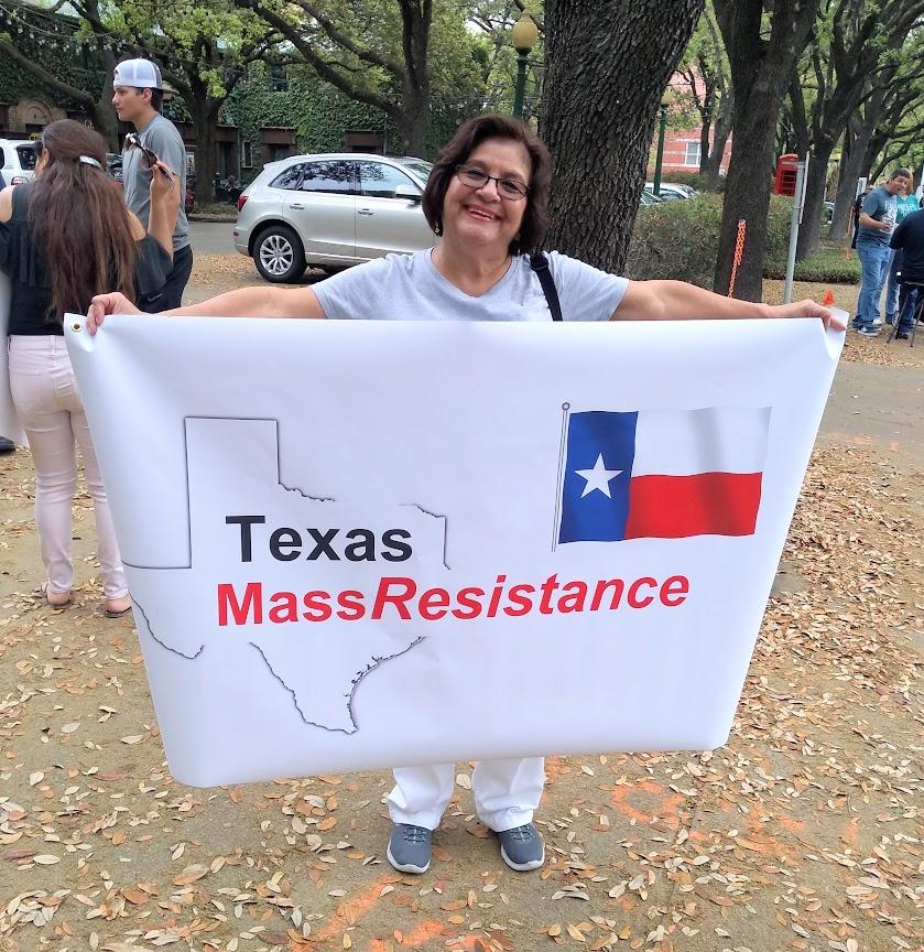 Texas Mass Resistance Banner